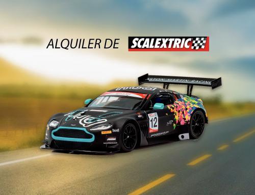 Te llevamos el Scalextric a casa