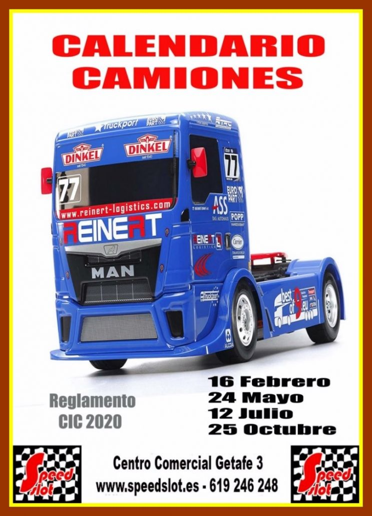 Calendario Grupo C- Clasicos 2020 en Speedslot